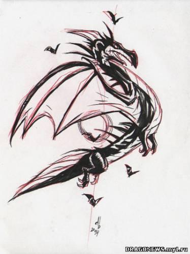 Картинки, рисунки Год дракона